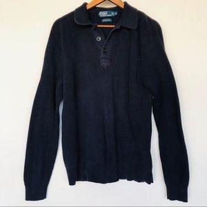 Polo Ralph Lauren 100% Pima cotton. Size XL NAVY
